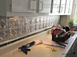 tin tiles for kitchen backsplash kitchen metal tile backsplashes hgtv tiles for kitchen backsplash