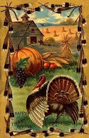 180 best thanksgiving cards images on vintage cards