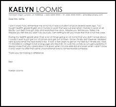 teacher appreciation letter from student livecareer
