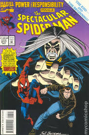 spectacular spiderman comic books issue 217