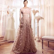 pink lace wedding dress shop 2017 vintage feather wedding dresses blush pink lace