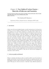 chapter 10 new solids of carbon clusters u2013 materials of