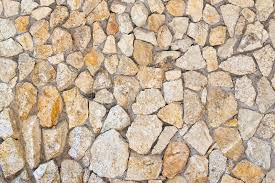 stone wall background for copy space or wallpaper stock image