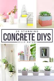 20 stunning concrete diy projects hello nature