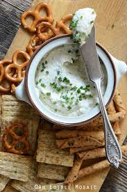Cottage Cheese Onion Dip by Healthy Roasted Garlic And Chive Cottage Cheese Crema Recipe