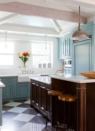 blue base kitchen cabinets 31 awesome blue kitchen cabinet ideas home remodeling