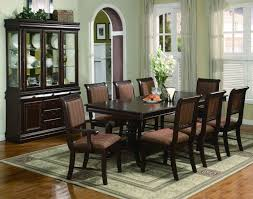 11 dining room set crown 2145 merlot 11 pieces traditonal dining table set