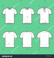 front back view mens clothing set stock vector 269214209