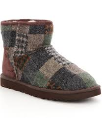 ugg sale dillards ugg mini patchwork s boots for lyst