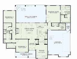 great room floor plans single story 1 story house plans with great room new single storey house plans
