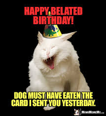 Cat Birthday Memes - funny cat birthday jokes cat purr day memes a mewsing b day humor