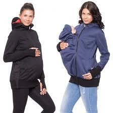maternity wear kangaroo maternity wear winter coat jacket hoodie baby carrier