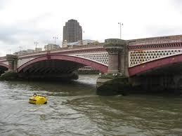 themse gezeiten london london ponton s brücken