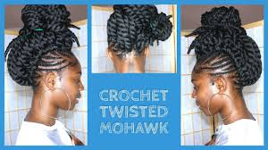where to buy pre twisted hair crochet braids mohawk with pre twisted hair youtube