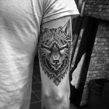 45 awesome tribal lone wolf designs and meanings wolf