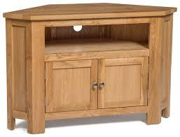 2 Door Tv Cabinet Waverly Oak 2 Door Corner Tv Stand Unit Hallowood
