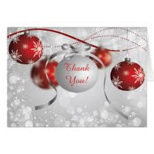 christmas thank you note cards zazzle co uk