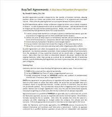 12 buy sell agreement templates u2013 free sample example format