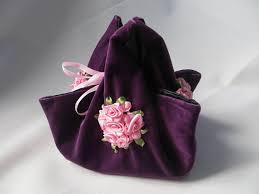purple gift bags large gift bags purple gift pouch velvet purse fabric gift bag