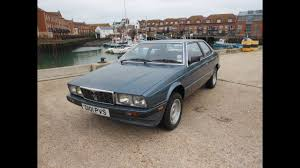 maserati biturbo sedan maserati biturbo ii youtube