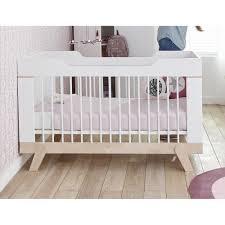 chambre bébé évolutive lit bebe evolutif 70x140 bouleau blanc malo maloblcm01b