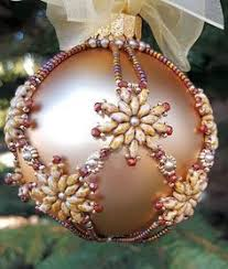 free beaded ornaments patterns ornament cover kit
