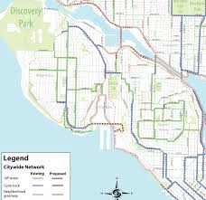 Seattle International Airport Map by Bike Master Plan Draft 2 West Seattle Duwamish Valley Queen
