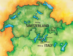Tre Map Swiss Alps And The Italian Lakes The Ohio State University