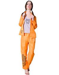 prisoner costume womens harley quinn bravo detainee prisoner costume burn after use