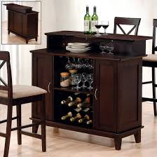 Furniture Wine Bar Cabinet Pretty Portable Bar Table And Stools Appealing Ideas Bars For Home