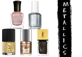 10 best metallic nail polish shades on trend for 2017