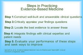 practicing evidence based medicine ppt
