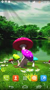wallpaper 3d mushroom 3d mushroom live wallpaper new apps on google play