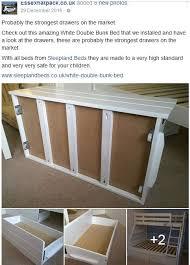 Triple Bunk Beds Single And Double Bunks Sleepland Beds - Double bunk beds uk