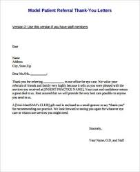 10 thank you letter sample free sample example format download