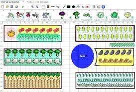 Vegetable Garden Layout Guide Vegetable Garden Layout Planner Software 8 Free Garden And