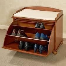 interior home furniture benches ayden wooden shoe storage bench