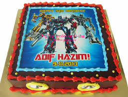 transformer birthday cakes birthday cake edible image transformers aisha puchong jaya