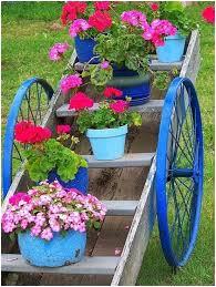 Unique Garden Decor 30 Garden Junk Ideas How To Create Garden Art From Junk