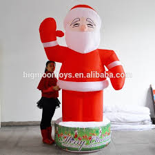 John Deere Outdoor Christmas Decorations by Inflatable Santa With Tractor Inflatable Santa With Tractor