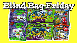 blind bag friday ep 18 trash pack zombie zity monster marbles