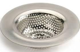 RSVP Endurance Stainless Steel Sink Strainer - Stainless steel kitchen sink strainer