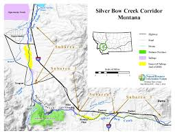 Montana Time Zone Map by Silver Bow Creek Ctec