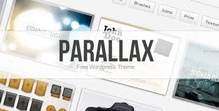 introducing parallax a free portfolio theme for wordpress