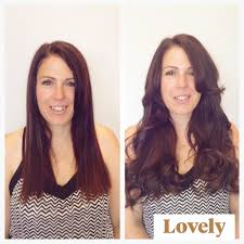 Sunkissed Brown Hair Extensions by Hair Extensions U2014 Blushbar The Blow Dry Bar