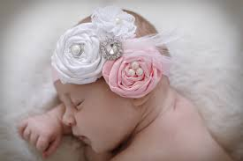 newborn hair bows baby headband newborn hair bow the ella grace vintage