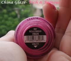 china glaze nail polish rich u0026 famous review indian makeup blog