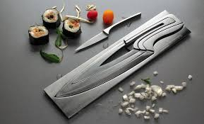 nesting kitchen knives amazon com deglon meeting knife set stainless steel knives and