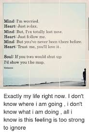 me a map of where i am mind i m woleried just relax mind but i n totally lost now