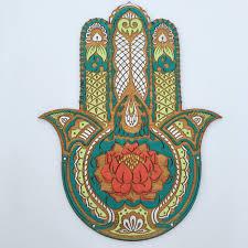 hamsa wall art shenra com